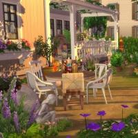 Douceur de vivre - le jardin - vue 3