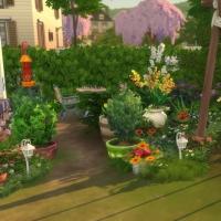 Douceur de vivre - le jardin - vue 4