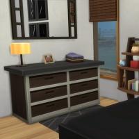 Containers en colocation - la chambre - vue 1