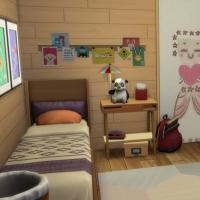 Containers en colocation - la chambre d'enfant - vue 1