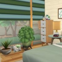 Containers en colocation - la chambre parentale - vue 1