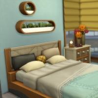 Appartement 404 - la chambre - vue 1