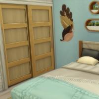 Appartement 404 - la chambre - vue 2