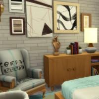 Appartement 404 - la chambre - vue 3