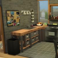 Appartement 404 - la cuisine - vue 1