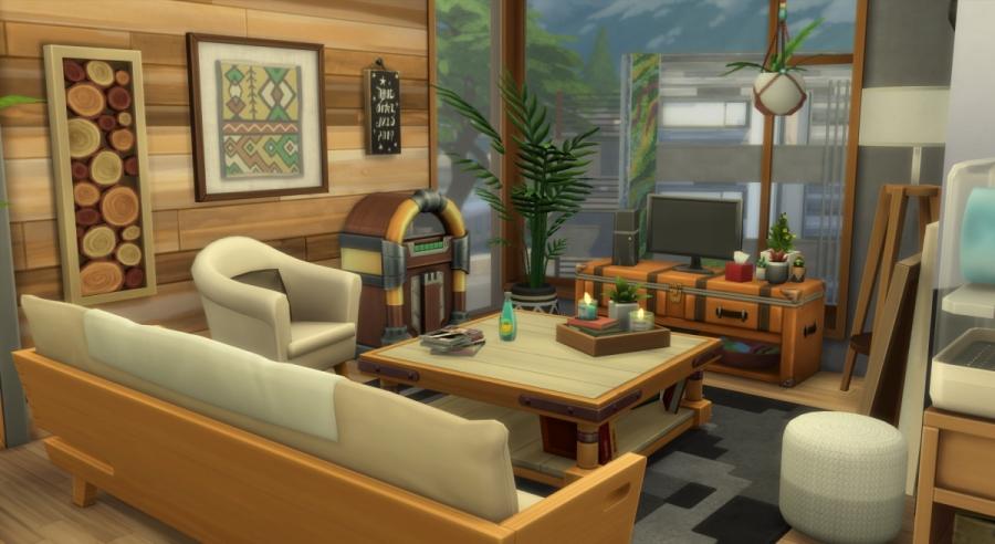 Appartement 404 - le salon - vue 1