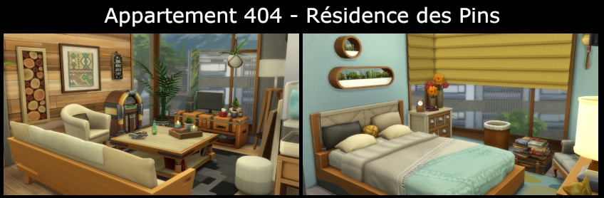 Appartement 404 - Résidence des Pins