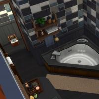 Chalet de Noël - la salle de bain