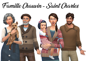 Famille Chauvin-Saint Charles