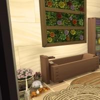 28 sims 4 chalet chaleureux salle de bain parentale