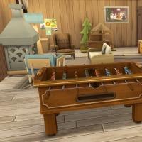31 sims 4 chalet chaleureux salle de jeu