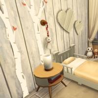 34 sims 4 chalet chaleureux chambre bambin