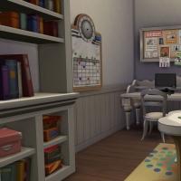 13 Milton house salle de jeux bureau