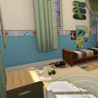 16 Milton house chambre enfant 1