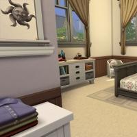 21 Milton house chambre parentale
