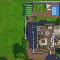 24  Milton house plan rez de chaussée