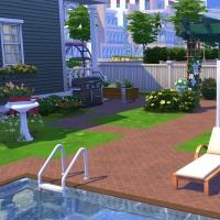 4 Milton house jardin