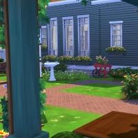 5 Milton house jardin