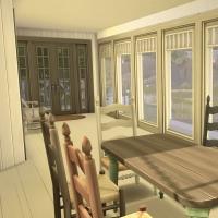 9 sea view salle à manger