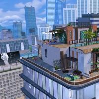 2 overlade penthouse vue extérieure
