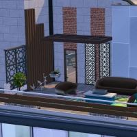 9 overlade penthouse vue extérieure