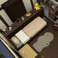 Kyoto - machiya 1 - la chambre d'enfant