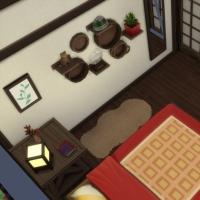 Kyoto - machiya 2 - la chambre parentale