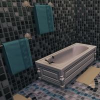 29 belle des champs  salle de bain