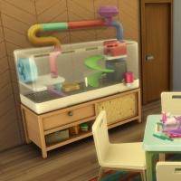 Zelia - l'espace jeu et animaux - vue 1