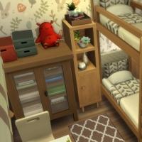 Ce bon vieux cottage - la chambre d'enfants - vue 1