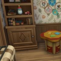 Ce bon vieux cottage - la chambre d'enfants - vue 2