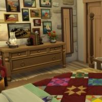 Ce bon vieux cottage - la chambre parentale - vue 2