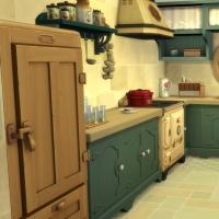 Ce bon vieux cottage - la cuisine