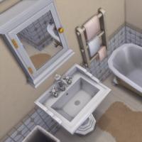 Ce bon vieux cottage - la salle de bain - vue 2
