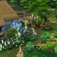 Ce bon vieux cottage - le jardin et la grange