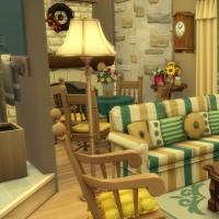 Ce bon vieux cottage - le salon - vue 1