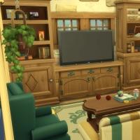 Ce bon vieux cottage - le salon - vue 2