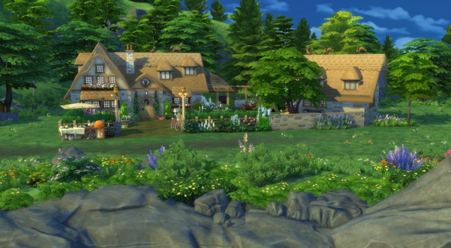 Ce bon vieux cottage - vue générale du terrain