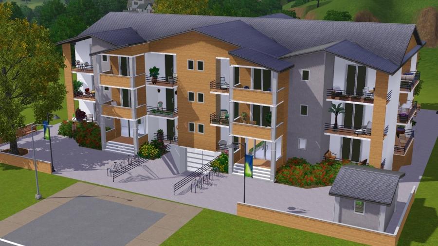 Construction maison sims 3 ventana blog for Construction maison sims 3